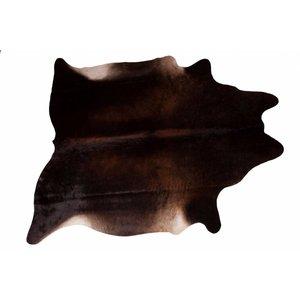 Het Landhuys Cowhide Dark Choco 200 x 140 cm