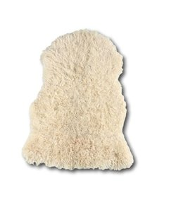 Curly Sheepskin White Heads