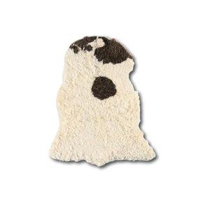 Het Landhuys Curly Sheepskin Longhair Brown Heads