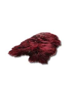 IJslandse schapenvacht - Burgundy Rood