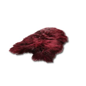 Het Landhuys Icelandic sheepskin - Burgundy Red