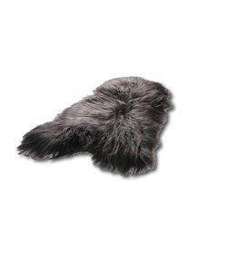 IJslandse schapenvacht antraciet/zwart