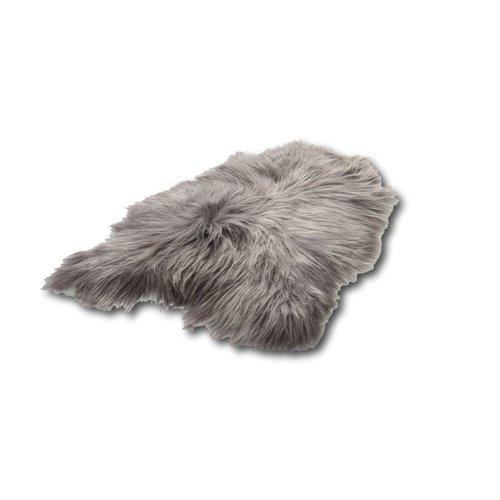 Het Landhuys IJslandse schapenvacht grijs