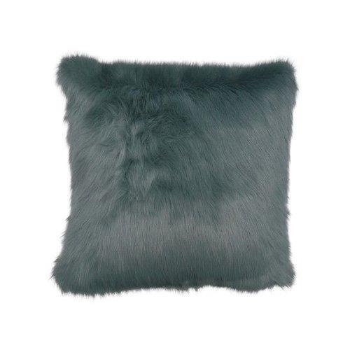 Raaf Throw pillow cover Fur gray-blue - Copy