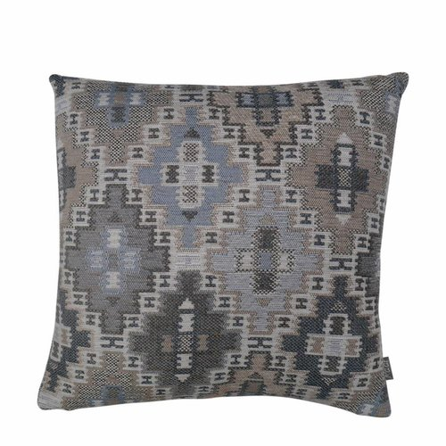 Raaf Throw pillow cover Ethnic blue 50x50