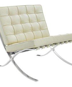 Barcelona chair creme