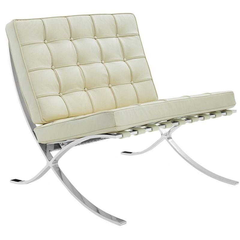 design - barcelona chair creme | home & lifestyle furniture