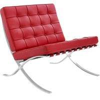Barcelona chair rood | Premium edition