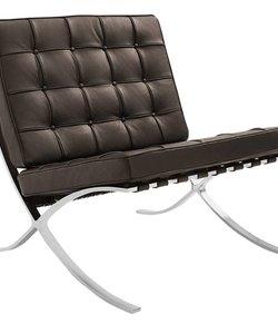 Barcelona chair darkbrown