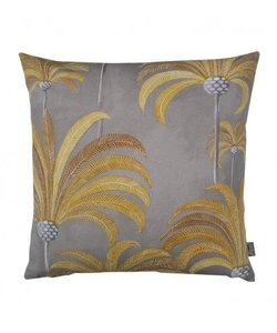 Throw pillow cover Tribal yellow