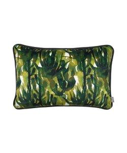 Sierkussenhoes Oase groen 40x60 cm