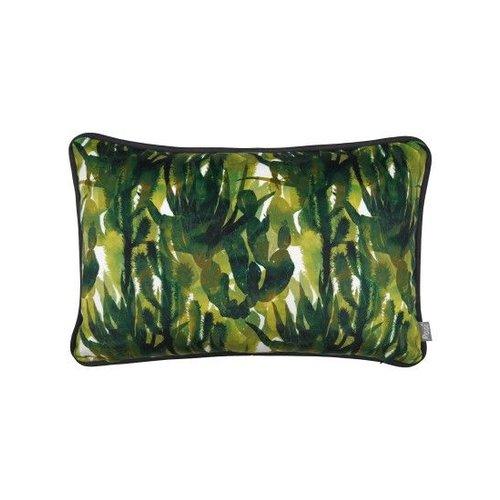 Raaf Sierkussenhoes Oase groen 40x60 cm