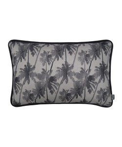 Cushion cover Palm Spring gray 40x60 cm