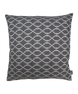 Throw pillow cover Lindy gray