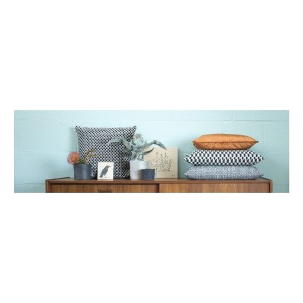 Cushion cover Palm Spring gray 40x60 cm - Copy