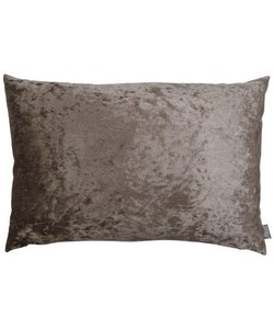 Throw pillow cover Chic taupe 40x60 cm
