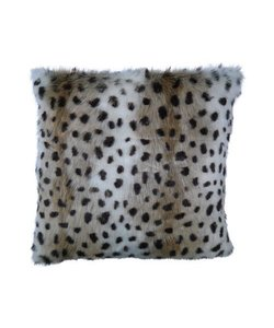 Throw pillow cover Hyena brown