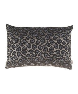 Throw pillow cover Leopard blue 40x60