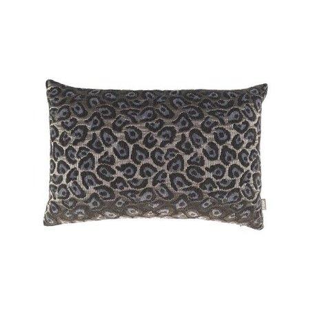 Raaf Throw pillow cover Leopard blue 40x60