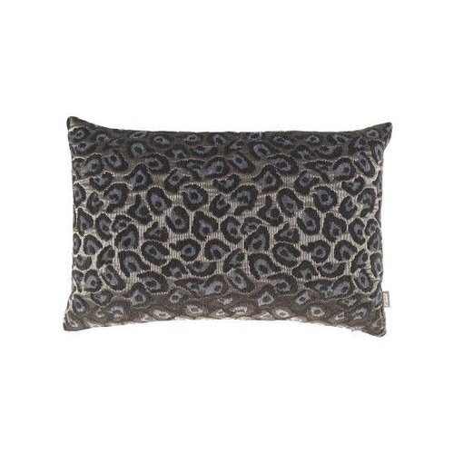 Raaf Throw pillow cover Leopard blue 40x60