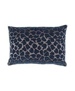 Throw pillow cover Leopard petrol 40x60
