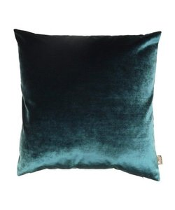 Decorative cushion cover LUX petrol