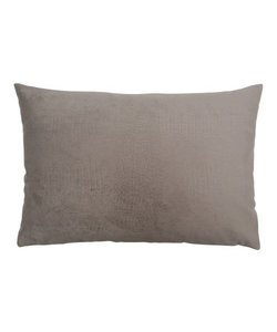 Throw pillow cover crocodile taupe 40x60 cm