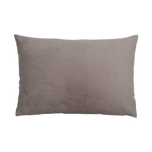 Raaf Throw pillow cover crocodile taupe 40x60 cm