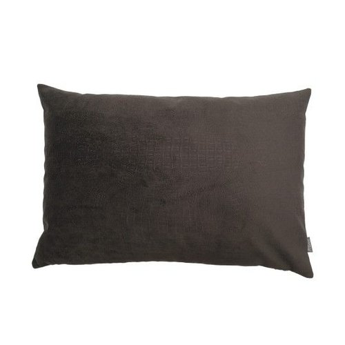 Raaf Throw pillow cover crocodile taupe 40x60 cm - Copy