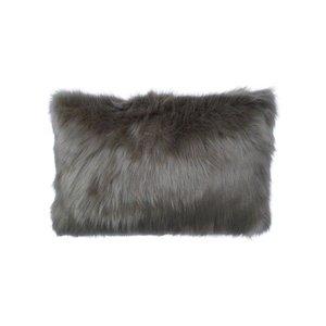Raaf Sierkussenhoes Fur taupe 35x50 cm
