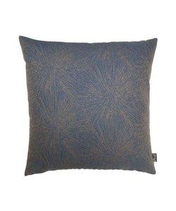 Sierkussenhoes Lauffer blauw 50x50 cm