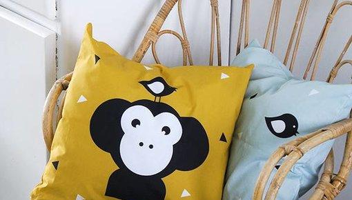 Children's room pillows