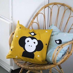 ANNIdesign Children's pillow APENKOP | Ocher