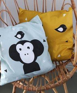 Children's pillow APENKOP | Old green