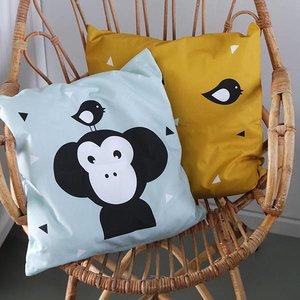 ANNIdesign Children's pillow APENKOP | Old green