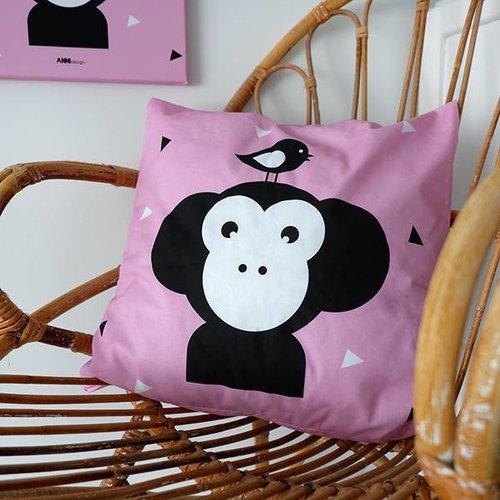 ANNIdesign Children's pillow APENKOP | Pink