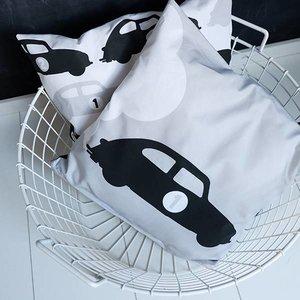 ANNIdesign Children's pillow AUTO # 1 | Gray