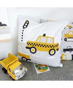 Kinderkussen AUTO  | Oker