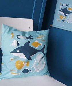 Children's pillow UNDERWATER | Blue