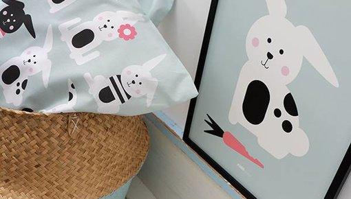 Children's room theme rabbit