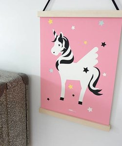 POSTER MONKEY BABY ROOM | PINK - Copy