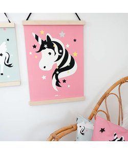POSTER UNICORN # 2 BABY ROOM | PINK
