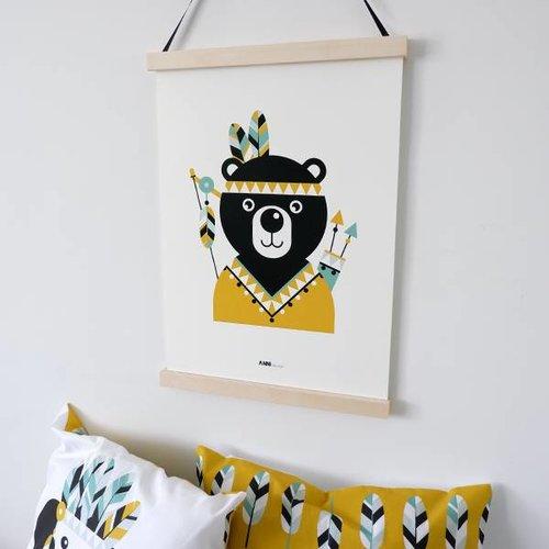 ANNIdesign POSTER INDIAAN BEER | OKER