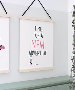 POSTER NEW ADVENTURE | PINK