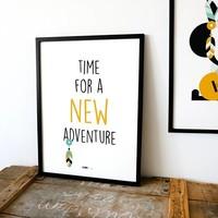 POSTER NEW ADVENTURE | Oker