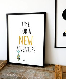 POSTER NEW ADVENTURE | Oker