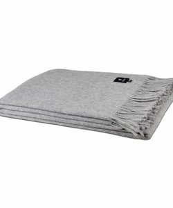 Alpaca Throw | Light grey