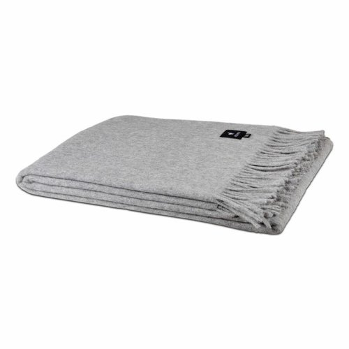 Van Buren Bolsward  Alpaca Throw | Light grey