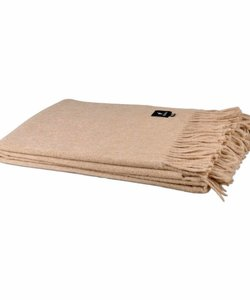 Alpaca Throw | Light beige