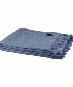Alpaca throw | Blue